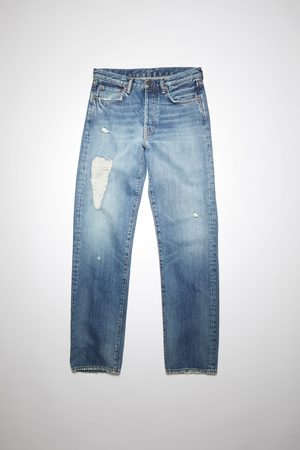 Acne Studios Straight - 1996 Mid Torn Straight fit jeans