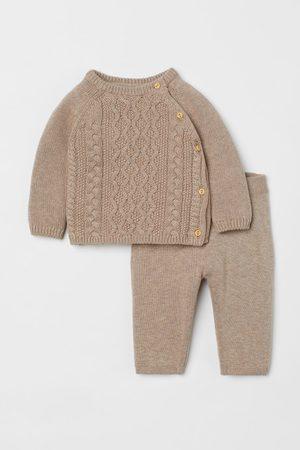 H&M Kids Pants - 2-piece Cotton Set