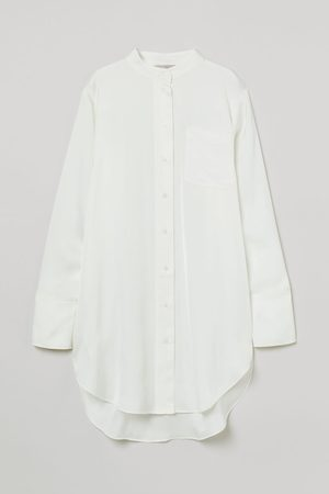 H&M Women Shirts - Oversized Satin Shirt