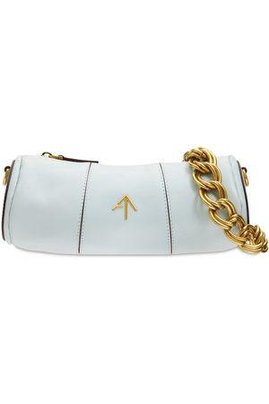 MANU ATELIER Xx Mini Cylinder Leather Shoulder Bag