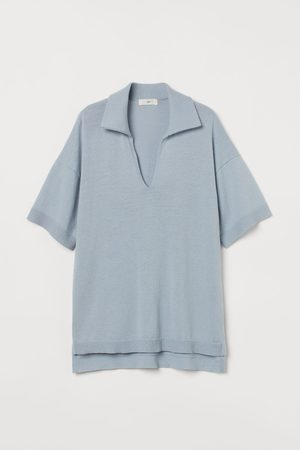 H&M Women Tops - Knit Top with Collar
