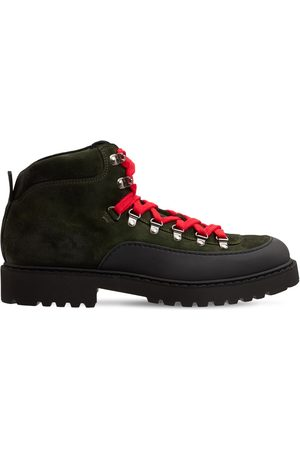 Doucal's Lvr Exclusive Suede & Fabric Hiking Boot