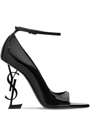 Saint Laurent Women High Heels - 110mm Opyum Patent Leather Pumps