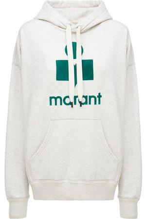 Isabel Marant Mansel Logo Cotton Blend Hoodie