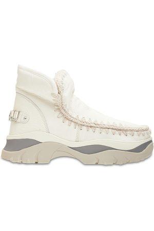 Mou 50mm Chunky Eskimo Sneaker Boots