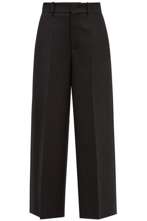 VALENTINO Women Straight Leg Pants - High-rise Wool-blend Straight-leg Trousers - Womens