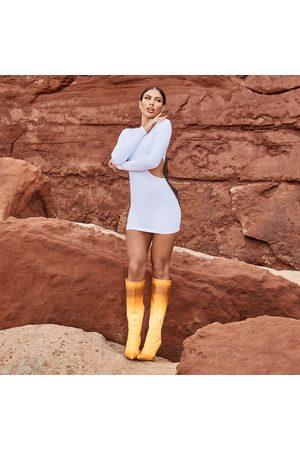 simmi.com Women Bodycon Dresses - Emily Miller Dusk Cut Out Chain Detail Bodycon Dress