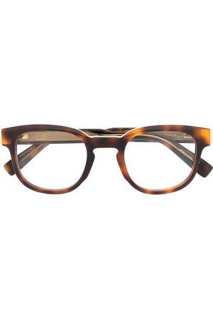 Dunhill Sunglasses - Tortoiseshell logo plaque glasses