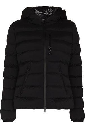 Moncler Women Puffer Jackets - Herbe hooded puffer jacket