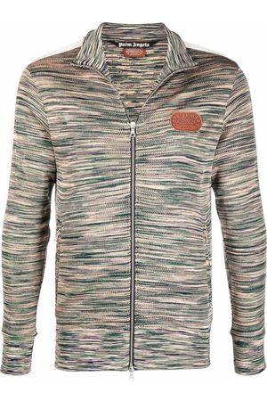 Palm Angels Sweatshirts - X Missoni knitted track jacket