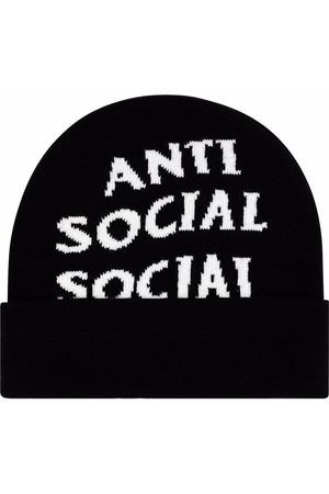 ANTI SOCIAL SOCIAL CLUB Men Beanies - Jacquard-logo beanie