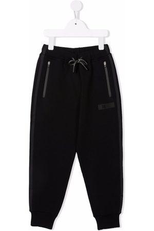 Il gufo Boys Sweatpants - Zip-pocket slim joggers