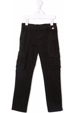 Il gufo Boys Cargo Pants - Slim-cut cargo trousers