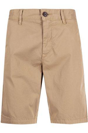 HUGO BOSS Men Bermudas - Straight-leg bermuda shorts