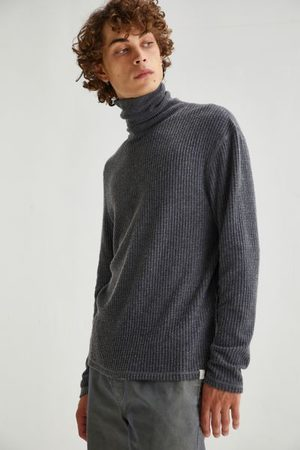 Standard Men Turtlenecks - Joseph Waffle Knit Rollneck Top