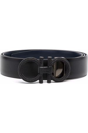 Salvatore Ferragamo Men Belts - Gancini-buckle belt