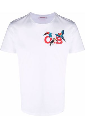 Orlebar Brown Monogram-print cotton T-shirt