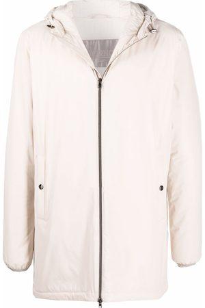 HERNO Men Parkas - Hooded zipped coat - Neutrals