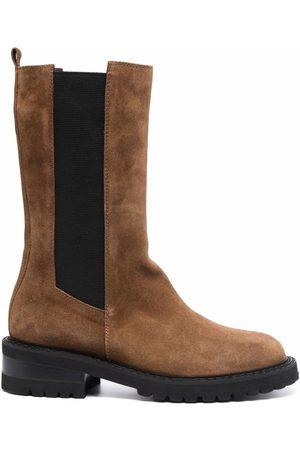 Via Roma Women Boots - Velour suede boots