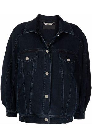 Alberta Ferretti Women Denim Jackets - Athleisure denim jacket