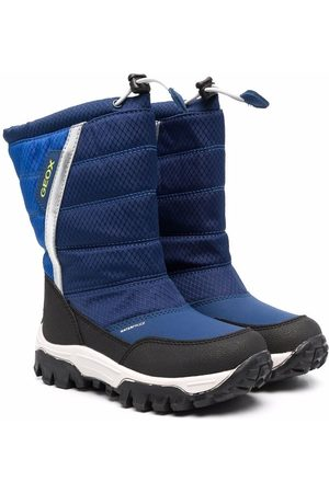 Geox Boys Boots - Drawstring padded boots