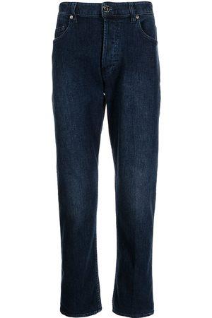 Emporio Armani Men High Waisted - High-rise straight-leg jeans