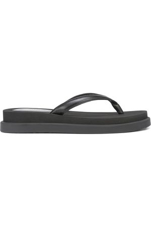Gianvito Rossi Women Flip Flops - Flatform-sole thong-strap flip flops