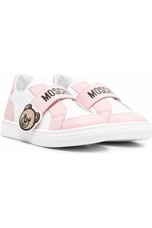 Moschino Sneakers - Toy bear strap sneakers