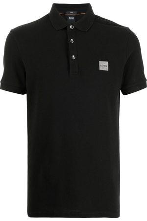 HUGO BOSS Men Polo Shirts - Logo short-sleeve polo shirt