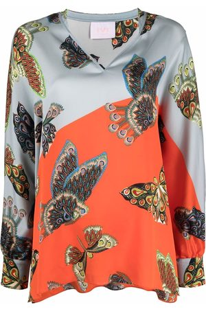 IVI Women Tunics - Butterfly graphic print tunic