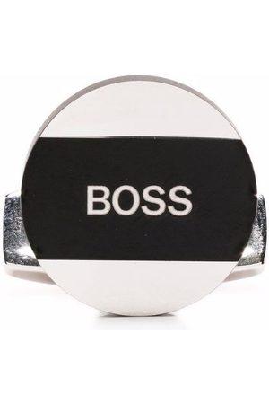 HUGO BOSS Men Cufflinks - Logo print cufflinks