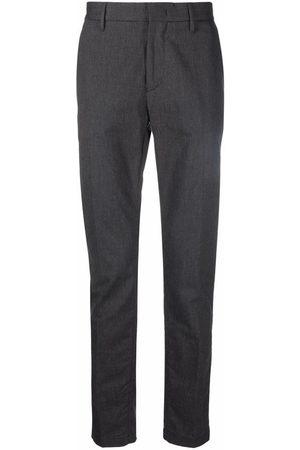 Emporio Armani Slim-cut tailored trousers