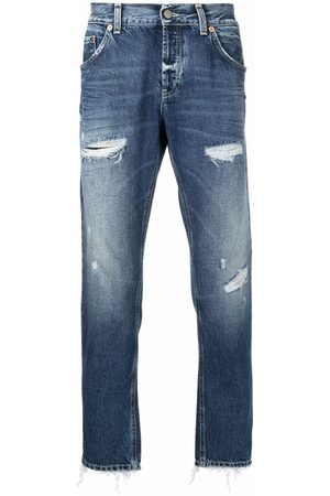 Dondup Men Straight - Pre-owned distressed straight-leg jeans