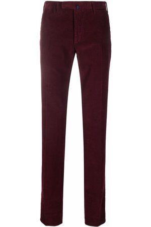 Incotex Men Straight Leg Pants - Straight-leg corduroy trousers