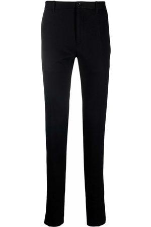 Incotex Men Straight Leg Pants - Mid-rise straight-leg trousers