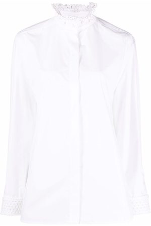 VALENTINO Women Shirts - Embellished collar shirt
