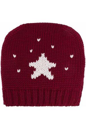 LA STUPENDERIA Star knitted beanie