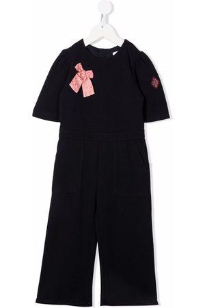 Chloé Girls Jumpsuits - Ribbon detail jumpsuit