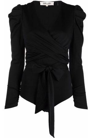 Diane von Furstenberg Women Bodies - Wrap-tie bodysuit