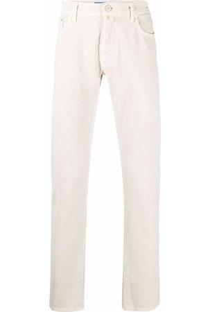 Jacob Cohen Men Straight - Mid-rise straight-leg jeans - Neutrals