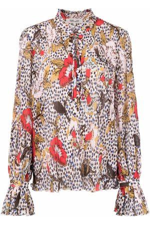Diane von Furstenberg Women Blouses - Floral-print blouse