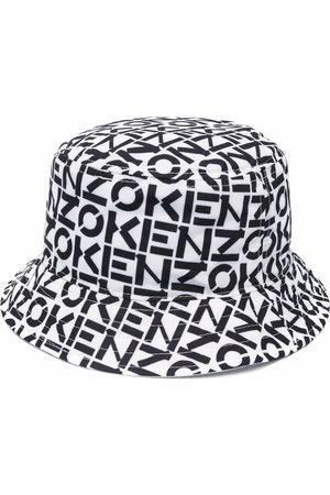 Kenzo Women Hats - Logo-print bucket hat