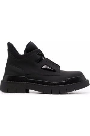 Salvatore Ferragamo Men Ankle Boots - Lace-up ankle boots