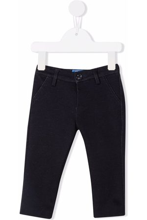 FAY KIDS Mid-rise slim-fit chinos