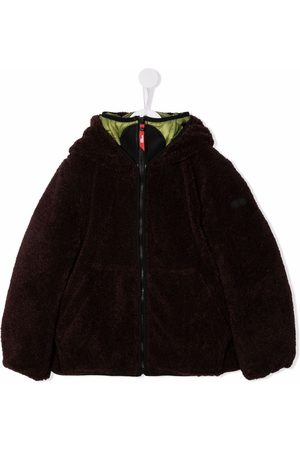 Ai Riders on the Storm Boys Bomber Jackets - Hooded faux fur jacket