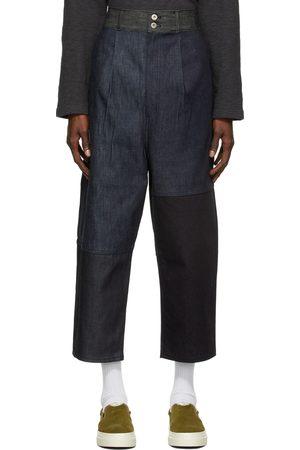 Comme des Garçons Men Wide Leg - Wide-Leg Paneled Jeans