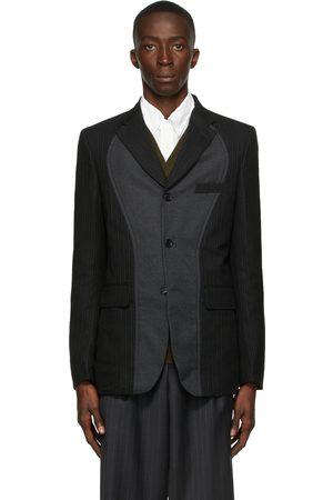 Comme des Garçons Men Blazers - Wool Herringbone Blazer