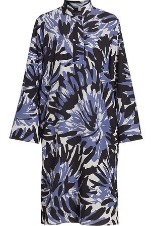 PIAZZA SEMPIONE Women Printed Dresses - Macro Camouflage Cady Tunic Dress