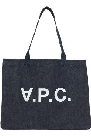 A.P.C. Women Tote Bags - Indigo Daniela Shopping Tote