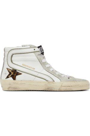 Golden Goose Women Sandals - SSENSE Exclusive Leopard Slide Sneakers